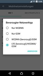 Sony Xperia XA1 - Netzwerk - Netzwerkeinstellungen ändern - Schritt 7