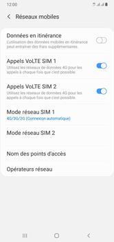 Samsung Galaxy A10 - Internet et connexion - Activer la 4G - Étape 8