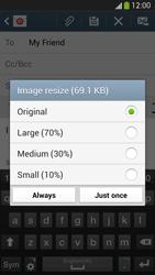 Samsung I9505 Galaxy S IV LTE - E-mail - Sending emails - Step 15