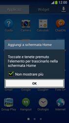 Samsung SM-G3815 Galaxy Express 2 - Operazioni iniziali - Installazione di widget e applicazioni nella schermata iniziale - Fase 5