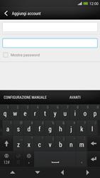 HTC One Max - E-mail - configurazione manuale - Fase 7