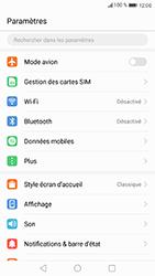 Huawei P8 Lite 2017 - Wifi - configuration manuelle - Étape 2