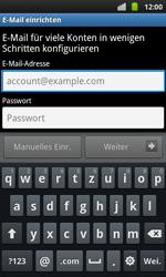 Samsung I9001 Galaxy S Plus - E-Mail - Konto einrichten - Schritt 4