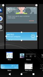 Sony Xperia XZ1 - Operazioni iniziali - Installazione di widget e applicazioni nella schermata iniziale - Fase 7