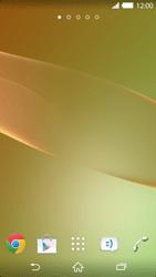 Sony Xperia Z2 - Operazioni iniziali - Installazione di widget e applicazioni nella schermata iniziale - Fase 3