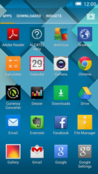 Alcatel Pop C7 - Getting started - installing widgets and applications on your start screen - Step 3