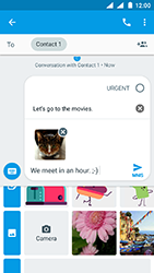 Nokia 3 - Android Oreo - MMS - Sending pictures - Step 18