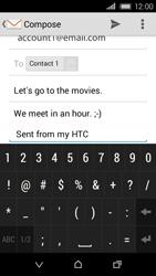 HTC Desire 320 - E-mail - Sending emails - Step 11