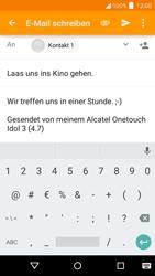"Alcatel Idol 3 - 4.7"" - E-Mail - E-Mail versenden - 10 / 17"