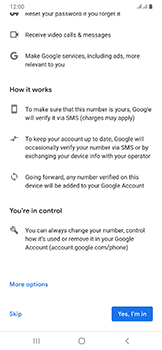 Samsung Galaxy A50 - Applications - Setting up the application store - Step 14