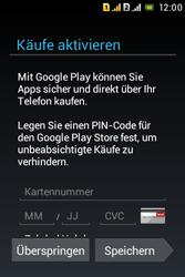 Sony Xperia Tipo Dual - Apps - Konto anlegen und einrichten - 24 / 29