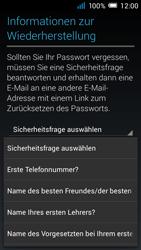 Alcatel Pop C7 - Apps - Konto anlegen und einrichten - 1 / 1