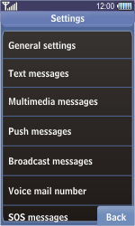 Samsung S8500 Wave - Voicemail - Manual configuration - Step 6