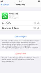 Apple iPhone 7 - iOS 13 - Apps - Eine App deinstallieren - Schritt 6