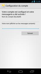 Samsung I9250 Galaxy Nexus - E-mail - Configuration manuelle - Étape 12