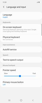 Samsung Galaxy Z flip - Getting started - How to add a keyboard language - Step 6