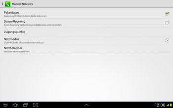 Samsung Galaxy Tab 2 10.1 - MMS - Manuelle Konfiguration - Schritt 6