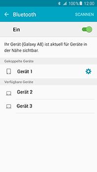 Samsung Galaxy A8 - Bluetooth - Verbinden von Geräten - Schritt 8