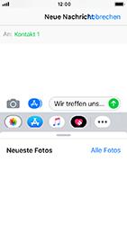 Apple iPhone 5s - iOS 12 - MMS - Erstellen und senden - Schritt 11