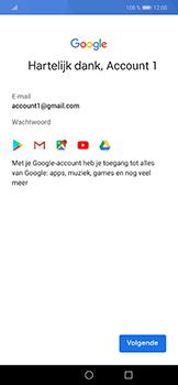 Huawei P Smart Plus - apps - account instellen - stap 16