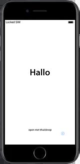 Apple iphone-7-plus-met-ios-13-model-a1784 - Instellingen aanpassen - Hoe gebruik ik de Automatisch inloggen-optie - Stap 3