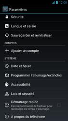 Alcatel One Touch Idol - Logiciels - Installation de mises à jour - Étape 4