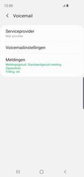 Samsung Galaxy S10e - voicemail - handmatig instellen - stap 9