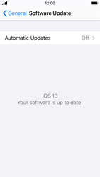 Apple iPhone SE - iOS 13 - Software - Installing software updates - Step 6