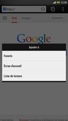 HTC One Max - Internet et roaming de données - Navigation sur Internet - Étape 9