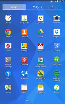 Samsung T335 Galaxy Tab 4 8-0 - Internet - Internet browsing - Step 2