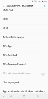 Samsung Galaxy J4+ - Internet - Apn-Einstellungen - 17 / 41