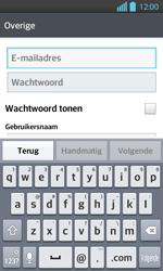 LG P710 Optimus L7 II - E-mail - Handmatig instellen - Stap 6