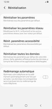 Samsung Galaxy S9 - Android Pie - Téléphone mobile - Réinitialisation de la configuration d