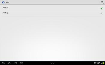 Samsung Galaxy Tab 2 10.1 - Internet et roaming de données - Configuration manuelle - Étape 16