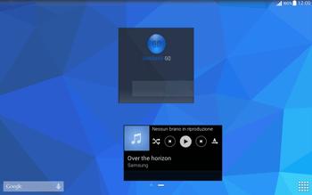 Samsung T535 Galaxy Tab 4 10.1 - Operazioni iniziali - Installazione di widget e applicazioni nella schermata iniziale - Fase 10