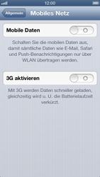 Apple iPhone 5 - MMS - manuelle Konfiguration - Schritt 5