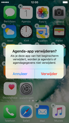 Apple iPhone SE - iOS 10 - iOS features - Verwijder en herstel standaard iOS-apps - Stap 4