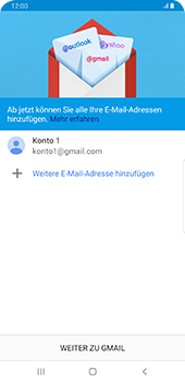 Samsung Galaxy Note9 - Android Pie - E-Mail - 032a. Email wizard - Gmail - Schritt 12