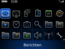 BlackBerry 9700 Bold - MMS - Afbeeldingen verzenden - Stap 2