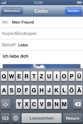 Apple iPhone 4 - E-Mail - E-Mail versenden - 2 / 2