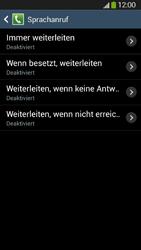 Samsung Galaxy S4 Active - Anrufe - Rufumleitungen setzen und löschen - 9 / 12