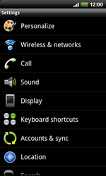 HTC A7272 Desire Z - Internet - Manual configuration - Step 4