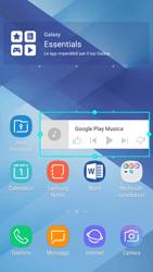Samsung Galaxy A5 (2017) - Android Nougat - Operazioni iniziali - Installazione di widget e applicazioni nella schermata iniziale - Fase 8