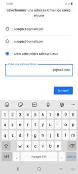 Samsung Galaxy S20 - Applications - Créer un compte - Étape 12