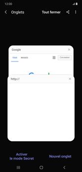 Samsung Galaxy Note 10+ - Internet et connexion - Naviguer sur internet - Étape 17
