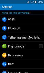 Samsung G357 Galaxy Ace 4 - Wi-Fi - Connect to Wi-Fi network - Step 4