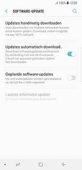 Samsung Galaxy S8 - Oreo - software - update installeren zonder pc - stap 5