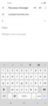 Samsung Galaxy A21s - E-mails - Envoyer un e-mail - Étape 6