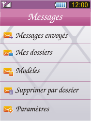 Samsung S7070 Diva - SMS - Configuration manuelle - Étape 4
