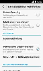 Huawei Ascend Y330 - Ausland - Im Ausland surfen – Datenroaming - 7 / 11
